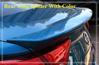 Wholesale High quality ABS material with color paint rear wing Spoiler for Nissan Lannia bluebird mount by M or glass glue