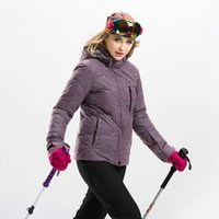 Wholesale A Set Jacket Pant Women s Skiing or Snowboarding Suit Waterproof Outdoor Thermal Clothing Hiking or Camping or Cycling