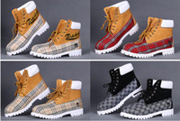 timberland boots - 2016 Classic Timberlands Boots Brand Women Mens for High quality Cheap TBL Genuine Leather Ankle Casual Boots Fashion Shoes Size