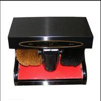 automatic polisher - Infrared induction automatic shoe polishing equipment Shoes polish machine Shoe polisher Leather shoe cleaning
