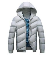 batik clothing for men - 2016 winter fashion casual jacket warm winter duck down jacket for winter parka men hooded zipper down coat clothe