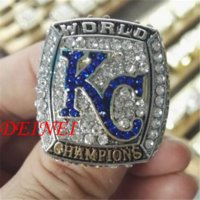 Wholesale 2015 Kansas City Royals World Series Baseball Championship Ring fan gift Cheap gift game High Quality gifts gym