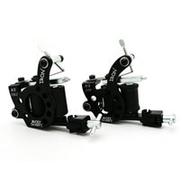 Wholesale Pro Tattoo Machine Black coils High Quality Tattoo machine Gun For Shader and Liner