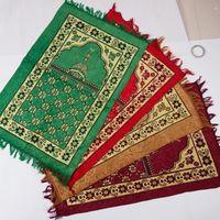Wholesale 2017 Muslim prayer mat tapie Religion use Blanket Religion use Blanket Muslim prayer mat Islam Sajjadah al Salat