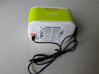 Wholesale MinF01 PTC Ceramic Space Heater Electric V W Warm Winter Mini desktop Fan Heater Forced Home Applicance with EU plug