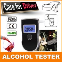 alcohol business - Send mouthpieces Factory Drive Safety Digital Alcohol Tester Business Gift Breathalyzer detector