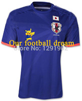 Wholesale Top Quality World Cup Pikachu Japan soccer jerseys Japan Home Blue Pikachu Man Soccer Jerseys