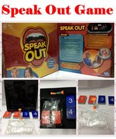 best science toys - Speak Out Game KTV Party Game Cards For Party Christmas Gifts Newest Best Selling Toy With Retail Box