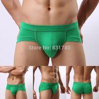 Wholesale 2014 Hottest Style Modal shorts men underwear men boxers blue yellow red purple pink green grey white black brown