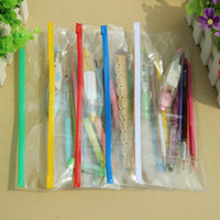 Wholesale Excellent Quality Plastic Transparent Pencil Bag Pen Case Stationary Cover Pouch Document Holder Business Office Stationery