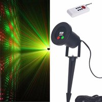 Wholesale New Fashionable Style Laser Light Red And Green Light AC110V V Black