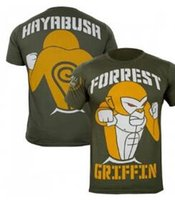 Wholesale new Hayabusa Forrest Griffin Hall Fame Shirt sweatshirt Muay Thai Boxing clothes tight stretch