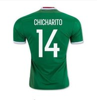 Wholesale Customized AAA Thai Quality Mexico CHICHARITO G DOS SANTOS soccer jerseys