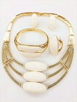 african american wear - The latest popular new k imitation gold plating necklace earrings bracelets rings suits suitable for various occasions to wear