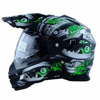 Wholesale Taiwan sports car locomotive THH cross country motorcycle helmet full face double lens multi function quarter helmet male personality