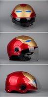 abs plastic safe - New MALUSHUN ABS Motorcycle Harley Helmet Classic Half Face Helmet Motorcycle Safe Racing Helmet Imitate AIS Helmet