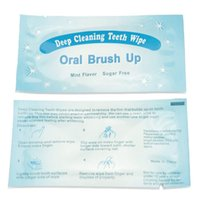 best wipes - Best Professional home tooth Health whitening kit Mint Deep Cleaning Teeth Wipe Finger Brush Teeth Wipes Dental Oral Brush Up Clean Hygiene