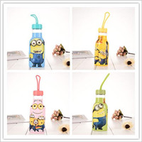 acid drinking water - 2016 cartoon frozen Despicable Me Minions kid children s spring summer water bottle for birthday party gift