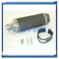 Wholesale High quality mm BWS universal motorcycle Carbon fiber Exhaust Muffler