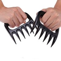 Wholesale Bear Meat Claws Handler Barbecue Fork Tongs Pull Shred Pork BBQ Barbecue Tool OPP bag