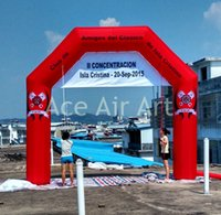 archway decorations - Good Red Inflatable Advertising Archway For Sports Events Decorations m Width m Height Free Air Blower