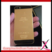 arabic house - xz trade real cell phone of limited edition mobile phone colo gold pink white black personalized smart mobile phone metal housing IOS system