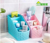 Wholesale Home Cosmetic Desktop Debris Storage Box Storage basket cosmetics Bedroom storage box Bathroom storage box
