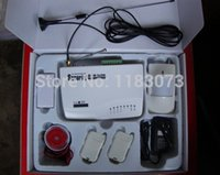 antenna discount - two antenna intercom Home Security GSM alarm system Original Big Discount Hot Selling Free Shippping
