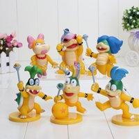 Wholesale 23sets set of Super Mario Bro PVC Action Figure Toys Koopalings Figure Dolls