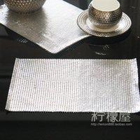 aluminum sheet grades - 4mm aluminum sheet with European style luxury table pad pad tassel Western style food bowl mat insulation pad high grade metal sheet