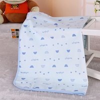 baby terry nappies - 1pcs Baby Changing Pad Pure Cotton Terry Cloth Diaper Mat cm Waterproof Nappy Mat Crib Seat Cover
