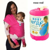 Wholesale Wrap Baby Carrier Kids Carrier Sling Wrap Strap Backpack Infant Baby3 Months Useful when you travelling Free Ship Baby Carrier