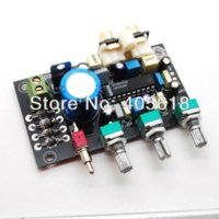 Wholesale LM1036 DC tone board with Bass treble balance volume adjustment preamplifier assembled board