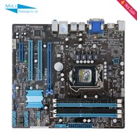 Wholesale For Asus P8B75 M Original Used Desktop Motherboard For Intel B75 Socket LGA DDR3 SATA3 USB3 On Sale