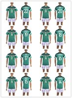 Wholesale Customized soccer jerseys Mexico Jersey H HERRERA Green Red jersey bLACK Mix Order Drop Shipping Accepted