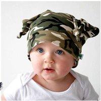 apparel for kids baby - Bebes Baby Beanie Hat For Girl Apparel Accessories Head Devil Horns Cotton Children Cap Kids Beanies Hats Boys Bone Gorro MZ0311