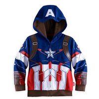 batman hoodie jacket - Autumn Avengers Boys Clothing Captain America Iron Man Batman Tracksuit Cartoon Super Hero Costume Anime Hoodies
