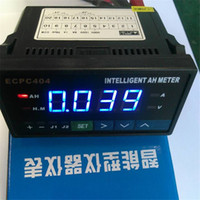 Wholesale Intelligent Amp Hour Meters Top Quality Blue Digital LCD Display Battery Testers Meter for Lithium Batteries GNED046