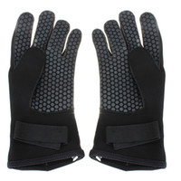 Wholesale 3mm Neoprene Scuba Diving Snorkeling Surfing Spearfishing Water Sport Warm Glove Mitten Size S M L Fishing Tackle Accessory tool