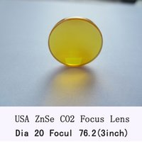 Wholesale USA ZnSe Focus Lens mm Dia mm Focal for CO2 Laser co2 laser engrave machine co2 laser cutting machine