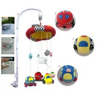 Wholesale New update Electric Bed Bell Mobile crib set bed bell with arm and toys musical bed bell crib stand kid bed toys