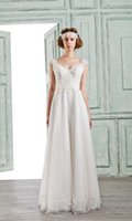 Wholesale BELLA BRIDE Wedding Dress With Detachable Overskirts Sexy V Neck Royal Princess Country Style Bridal Gowns