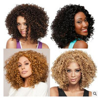 african wholesale hair wigs - Hot Sale African wig Short hair wig Black hair wigs Small volume blast caps modelling hair wig