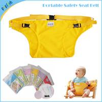achat en gros de partout chaise-Chine Wholesale Livraison gratuite amovible Partout Enfants Tissu Assis Chaise Ceinture EN71 sécurité Déménagement président bébé