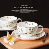 best christmas dishes - British ceramic bone china coffee cup and saucer tea cup dish best gift for Christmas or birthday