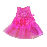 beach girls with out dress - Flower Lace Dress Baby Clothes Dobby Hollow Out Outfits Kids Girls Skirt Dress Baby Clothes with Bow for Girls LM005