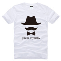 baby shirt online - 2016 New Hot You re My Baby T Shirt Short Sleeve O Neck Fashion Cotton T Shirts Shop Online Men Women Tshirt Print Tshirts