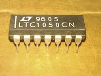 amp components - LTC1050CN LTC1050 PDIP14 OP AMP uV OFFSET MAX MHz BAND WIDTH IC dual in line pin dip plastic package Electronic Component