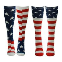 american flag products - Hot Sell Gmark New Product Women s Men s Crazy Funny American Flag Cotton Image Socks Men s Crew Socks