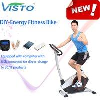 Wholesale Self generating Fitness Bike Self Generation Green Bike Magnetic Bike elliptical bike recumbent bike